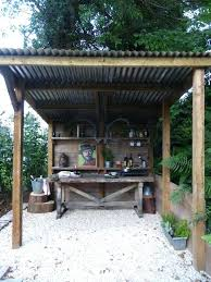 rustic outdoor kitchen ideas rustic outdoor kitchen newbedroom