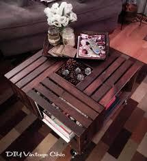 Wine Coffee Table Vintage Wine Crate Coffee Table Hometalk