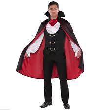 Halloween Party Costume Ideas Men Men U0027s True Vampire Count Dracula Halloween Fancy Dress Party