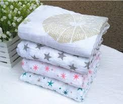 Engraved Blankets Baby Spring Summer 120 120cm 180g Muslin Blanket Aden Anais Baby