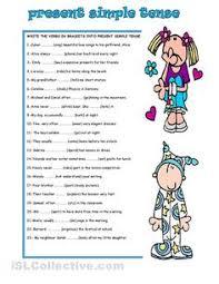 simple present tense worksheets worksheets releaseboard free