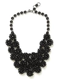 black flower necklace images 70 black chocker necklace black leather look choker necklace with jpg