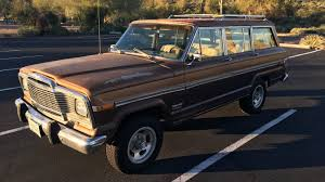 a family 4wd 1979 jeep wagoneer