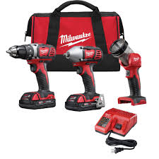 best deals on ebay cordless drills black friday milwaukee power tool combo kits power tools the home depot