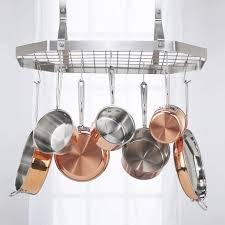 kitchen pot rack ideas kitchen hanging pot rack hanging kitchen pot rack ideas