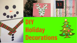 Easy Ways To Decorate Your Room For Christmas Diy Holiday Decor Easy Christmas Decorations For Your Room