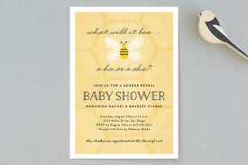 what will it bee baby shower what will it bee baby shower invitations by erica minted