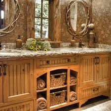 rustic country bathroom ideas impressive rustic style bathroom ideas trends4us