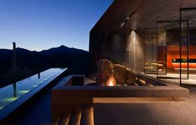 desert home decor for sale in arizona modern desert home by renowned architect view