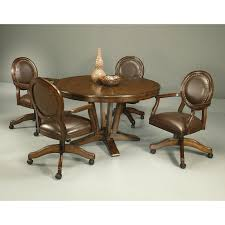 Dining Room Chairs On Casters by Dining Room Chairs With Rollers Kitchen Ideas Also Table Rolling