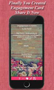 engagement ceremony invitation engagement invitation cards android apps on play