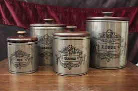 italian kitchen canisters italian kitchen canisters american atelier 4piece canister set