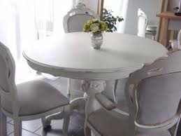 stunning round shabby chic dining table and chairs 42 in rustic