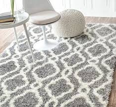 Modern Shag Area Rugs Contemporary Grey Shag Area Rug Frontgate Throughout
