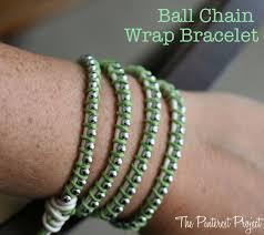 diy ball chain wrap bracelet the pinterest project