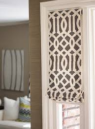 Flat Roman Shades - custom roman shades as a window treatment option drapestyle