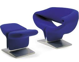ribbon chair u0026 ottoman hivemodern com