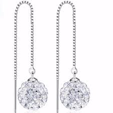 dangling earrings cubic zirconia drop dangling earrings loxlux jewelry