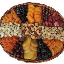fruit and nut baskets oval fruit nut basket 64oz shiva sympathy and condolence