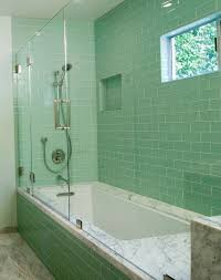 glass tile ideas for small bathrooms best 25 green small bathrooms ideas on attic bathroom