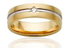 mens gold wedding band men s gold wedding rings cherry
