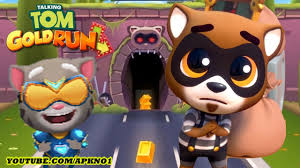 talking android talking tom gold run android gameplay the raccoon 2