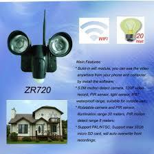 security light with camera wireless china new waterproof wifi led light pir camera wireless video