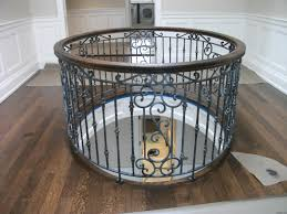 Wrought Iron Railings Interior Stairs Decor Cool Round Wrought Iron Railing Design Ideas With Wooden