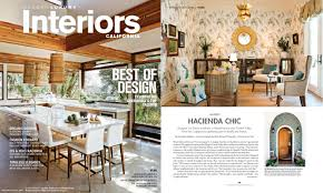 modern luxury interiors california hacienda chic winter spring