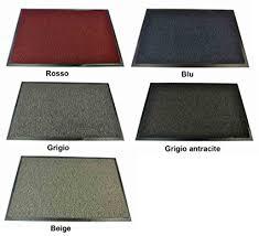 tappeti asciugapassi nevada zerbino tappeto asciugapassi grigio 90x120 cm