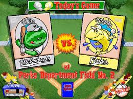 Play Backyard Baseball 2003 Backyard Baseball Game Johncalle