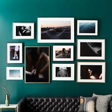 cb2 and framebridge partner for collection of custom framed art