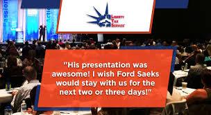 franchise speaker ford saeks