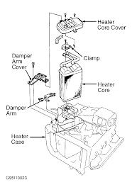 how do i change a heating core on a 1995 acura integra