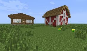 small farmhouse u0026 barn creative mode minecraft java edition