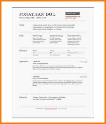 1 page resume template 7 one page resume templates free professional resume list