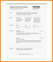 one page resume templates 7 one page resume templates free professional resume list