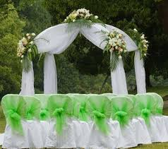 wedding arches on the simple ways to decorate wedding arch tulle arch an arch the