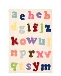 Modern Kids Rug Modernrugs Com Alphabets Tan Modern Kids Rug Cool Kids Club