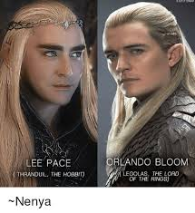 Legolas Memes - lee pace orlando bloom legolas the lord thranduil the hobbit of