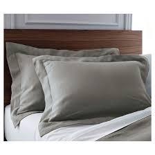 natural linen comforter linen comforter sham set fieldcrest target