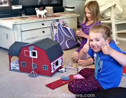 Toy Barn With Farm Animals Terra Toys Wooden Horse Barn U0026 Farm Animals Review Emily Reviews