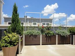 Balcony Planter Box by How To Build A Planter Box With Composite Decking Composite Wood