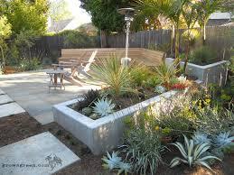 modern succulent garden contemporary landscape san francisco