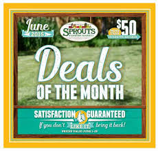 of the month monthly flyer sprouts farmers market