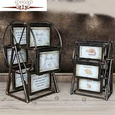 staygold vintage home decor shabby chic ferris wheel frame