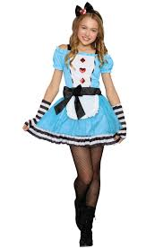 Dreamgirls Halloween Costumes Wonderland Tween Costume Purecostumes