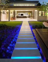 Led Lights For Backyard by Modern Garden Lighting Ideas U2013 Awesome Led Landscape Lighting