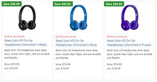 amazon beats headphones black friday beats headphones urbeats in ears 60 reg 100 powerbeats 2