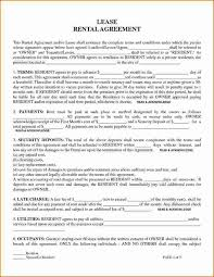 printable rental agreement free rental forms to print free and